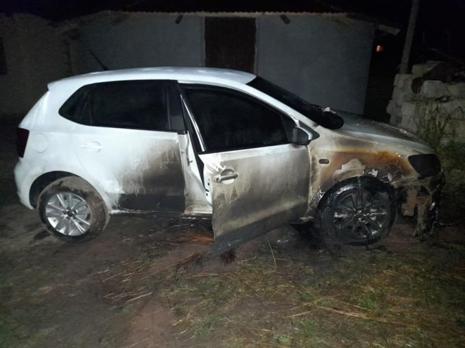 """""""I don't think I can survive this"""" - South African lady devastated as unknown 'jealous' persons set her brand new car ablaze weeks after showing it off on Facebook"""