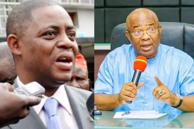 You can't benefit from Gulak's assassination - Gov Uzodimma tells FFK; he replies