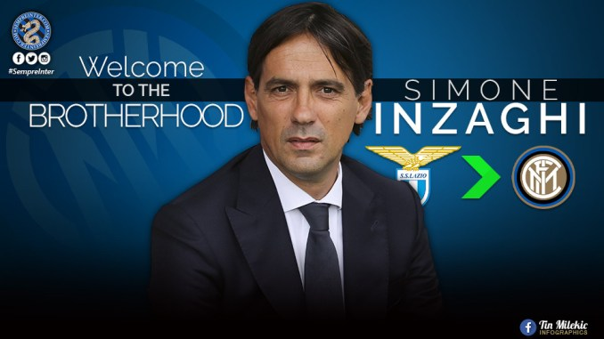 Inter Milan appoint Simone Inzaghi to replace Antonio Conte as new coach