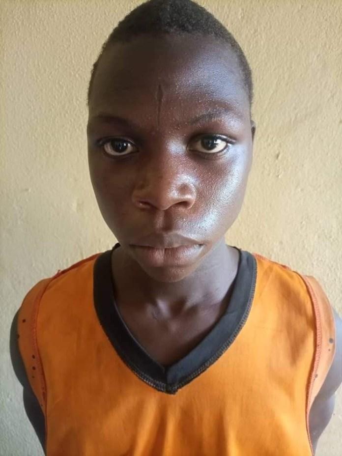Teenage boy arrested for defiling neighbour