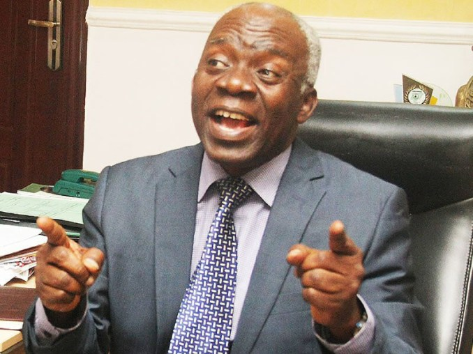FG should have sued Twitter not ban its use - Falana