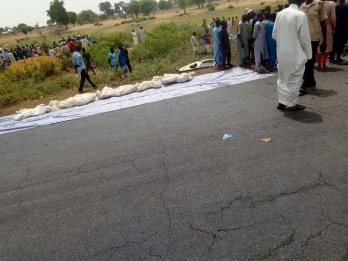 18 killed in ghastly motor accident in Jigawa
