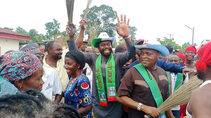 Goodluck Jonathan's son-in-law, Prince Godswill Edward defects to APC
