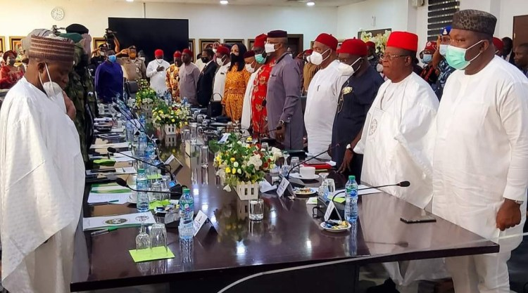 FG delegation and South East leaders meet in Enugu, reject agitation for secession