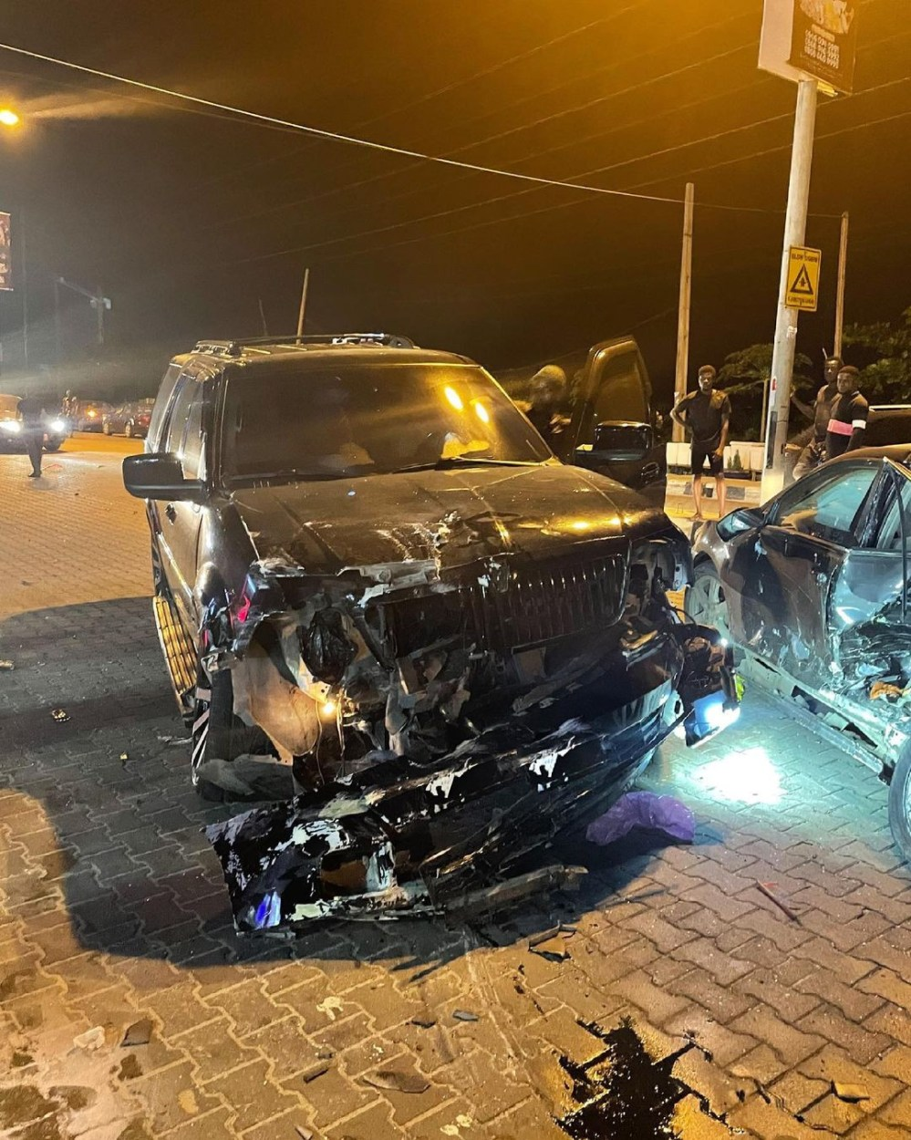 Fashion designer, Yomi Casual, hospitalised after surviving a ghastly motor accident (photos)