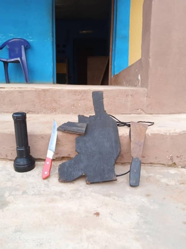 18-year-old armed robbery suspect who steals from his victims with a dummy gun apprehended in Delta (photos)