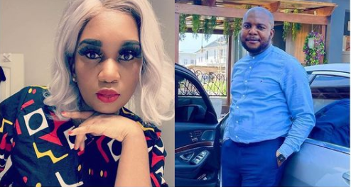 Ubi Franklin's baby mama, Sandra Iheuwa updates her bio to read 'engaged to a boss' after rumor of her romance with businessman Steve Chidi