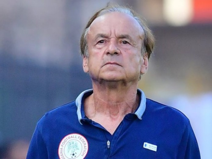 Super Eagles coach Rohr names home-based squad for Mexico friendly in United States