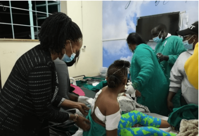 Kenyan man who allegedly demanded DNA test stabs his two daughters, sets house ablaze before attempting suicide