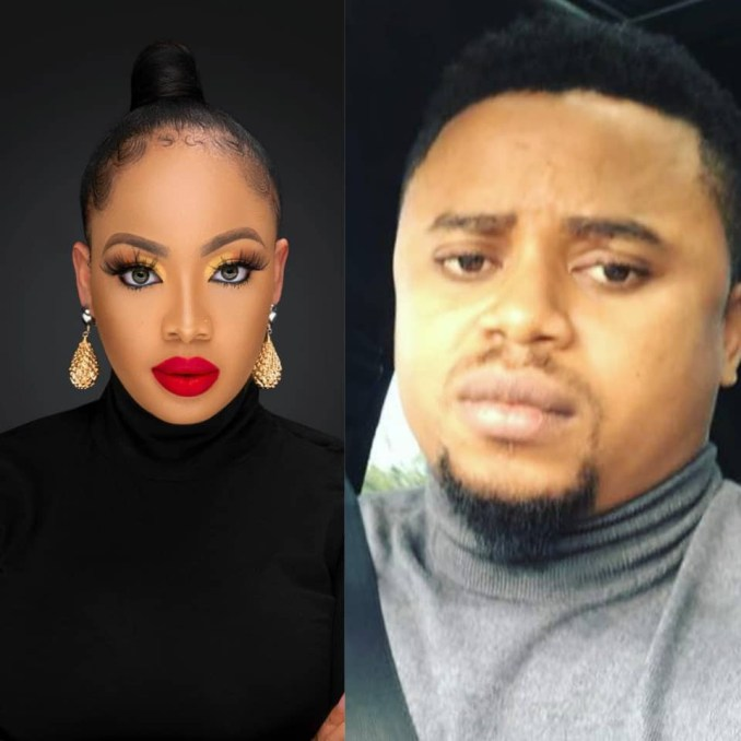 Reality TV star, Nina's husband, shows he is in support of her newly acquired body
