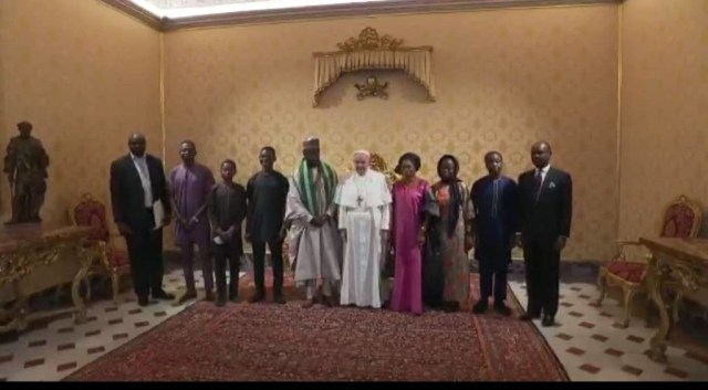 Pope Francis expresses readiness to collaborate with Nigeria to overcome the security challenges
