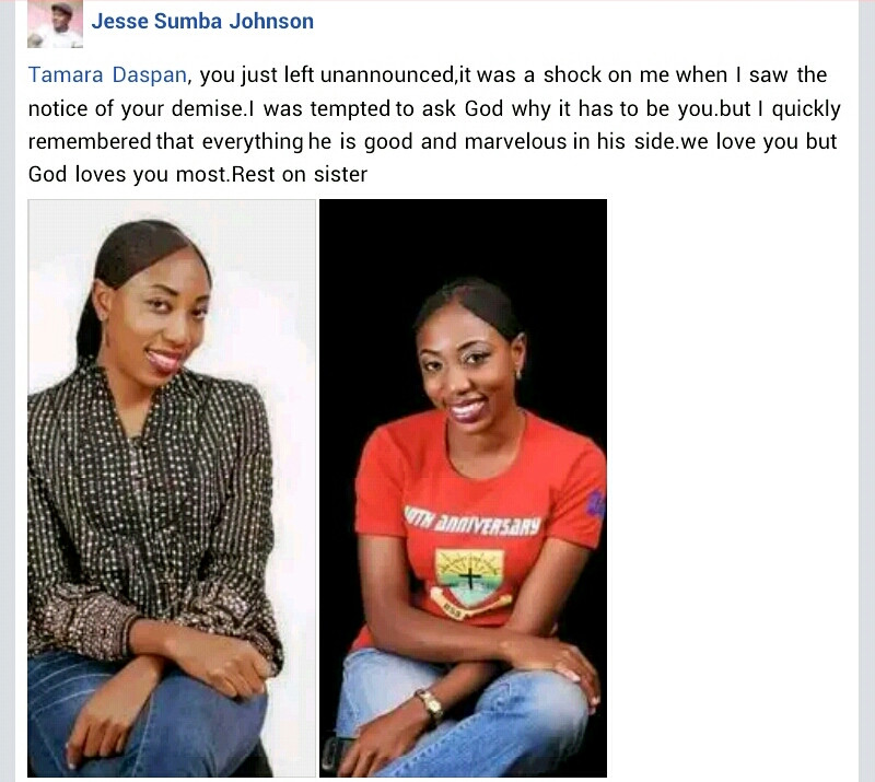 Young woman dies from brain injury after she was allegedly robbed and pushed out of moving Keke by suspected robbers in Jos