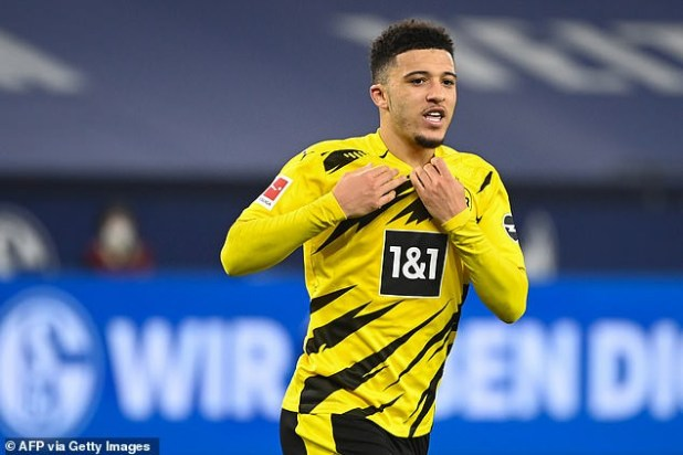 Manchester United reportedly agree to pay up Jadon Sancho