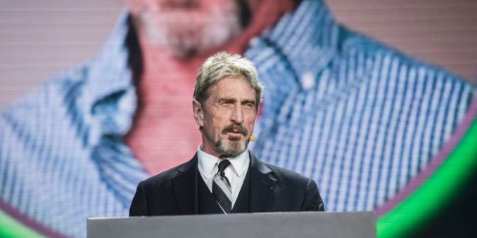 'If I suicide myself I didn't': John McAfee's 2019 Tweet surfaces online after he's found dead in Spanish Prison