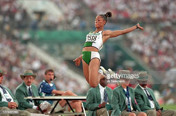 Lagos State govt gifts Olympic Gold Medalist Chioma Ajunwa a three bedroom apartment as reward for her feat, 25 years after she was promised (video)