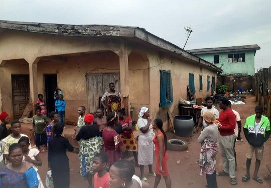 Tears & Sorrow As Man beats his wife to death for refusing to give him N2000 loan in Edo (photo)