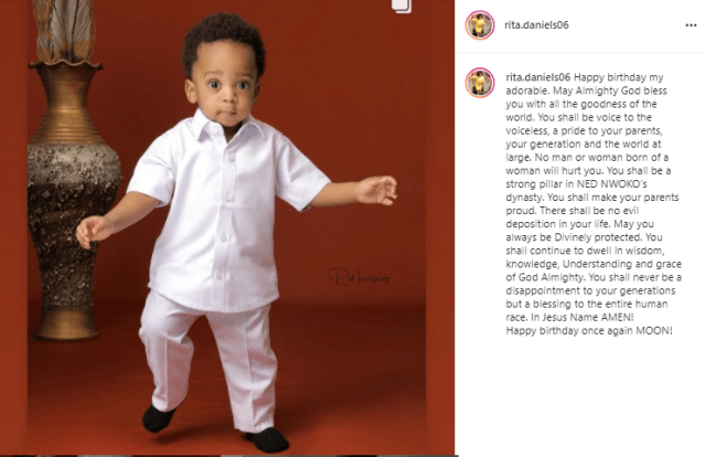 You shall be a strong pillar in Ned Nwoko?s dynasty - Regina Daniels