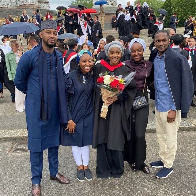 You have made us proud - Aisha Buhari congratulates her daughter, Hanan for graduating with Distinction from Royal College of Art, UK