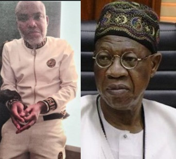 FG speaks on how Nnamdi Kanu was rearrested