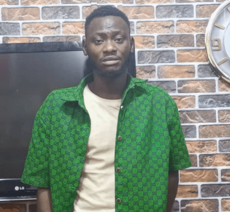25-year-old suspected blackmailer arrested after extorting N7 million from lady he threatened to release her nude photos (photo)