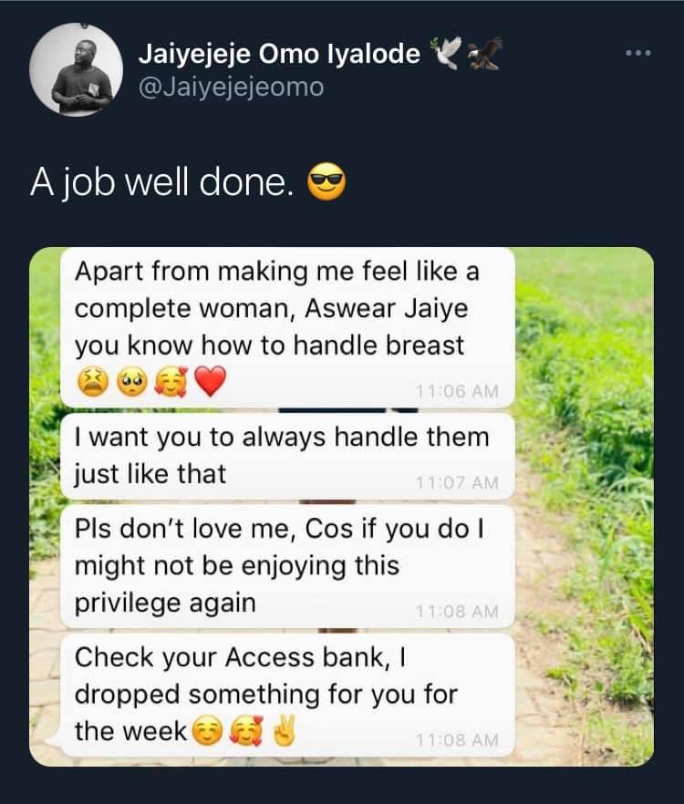 Actor Jaiye Abiodun praised and rewarded by his