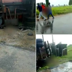 Mother loses 4 children in tanker accident in Delta, another lost 3 children