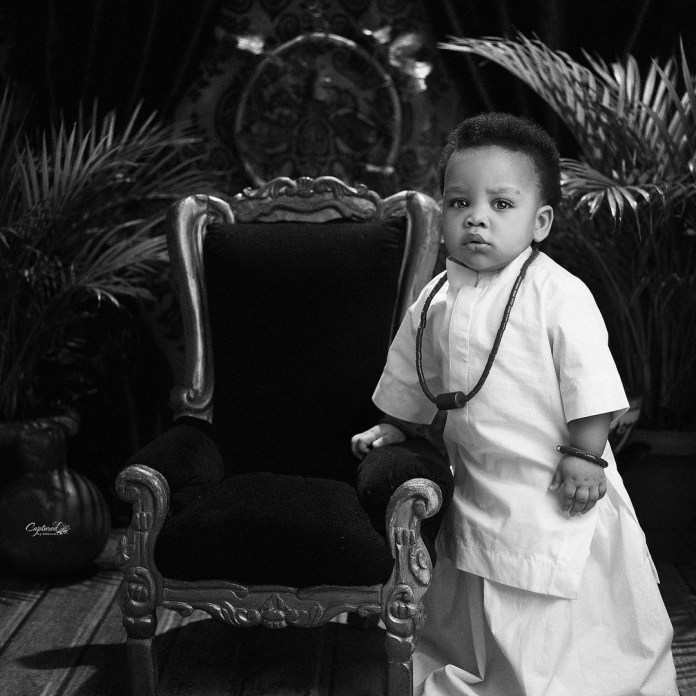 Actors, Linda Ejiofor and Ibrahim Suleiman share lovely new photos of their son as he turns one