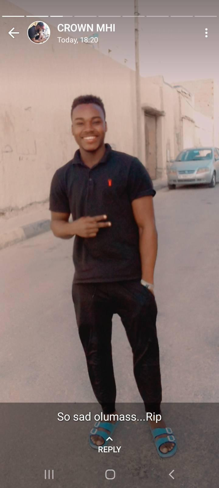 Young Nigerian man allegedly drowns while swimming in sea in Libya
