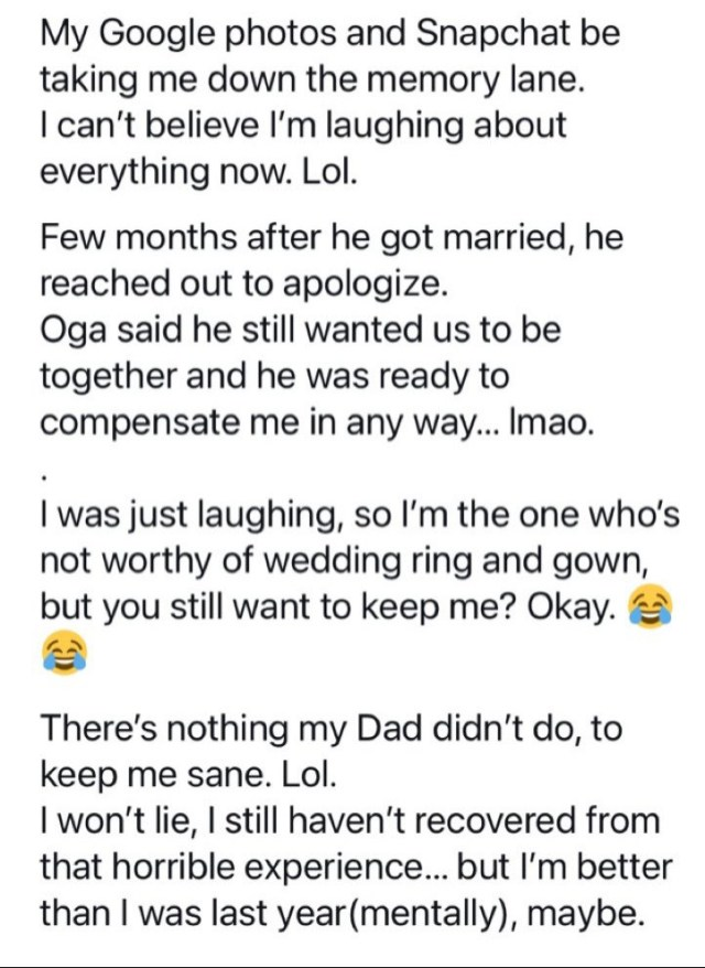Woman recalls finding her man