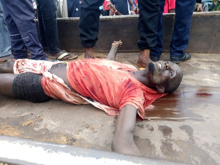 Two dead as suspected pirates attack military checkpoint in Delta community (graphic photo)