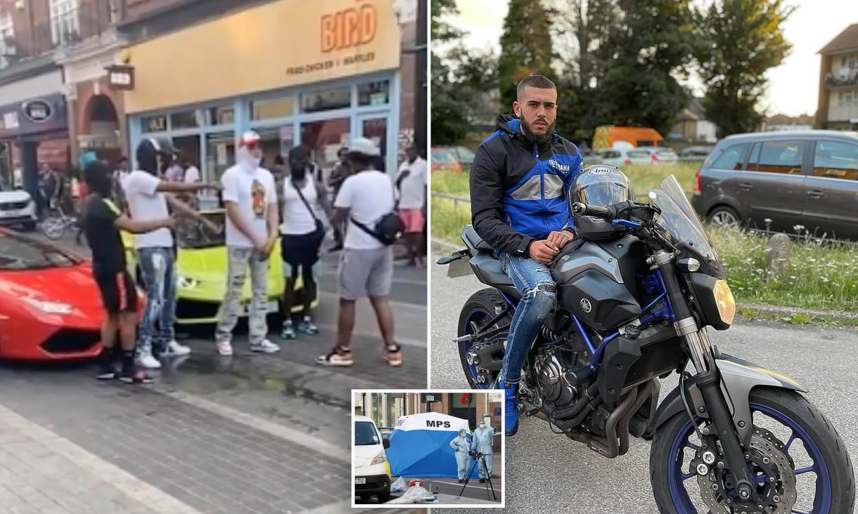 Man stabbed to death while filming a music video (photos)