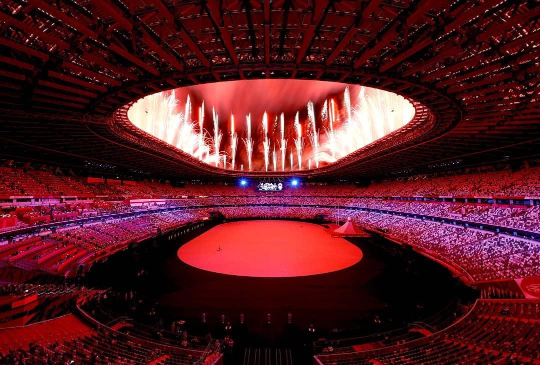 Des photos de la cérémonie d'ouverture des JO de Tokyo 2020 ?
