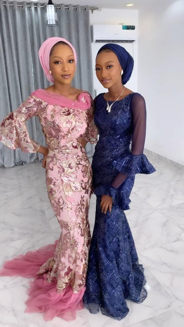 Yusuf Buhari and Zahra Bayero