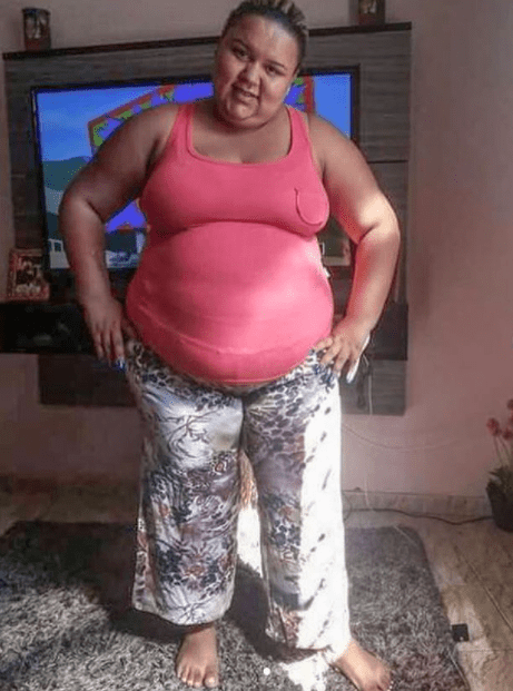 Formerly obese woman is totally unrecognizable in new photos after losing 11 stone to become a model
