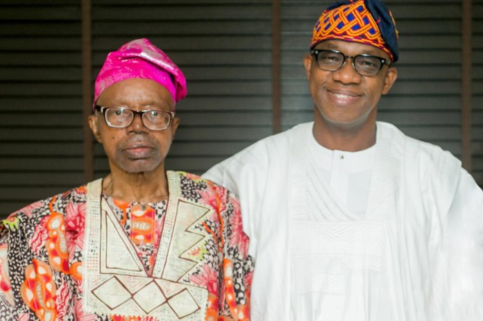 Ogun state governor, Dapo Abiodun, loses dad