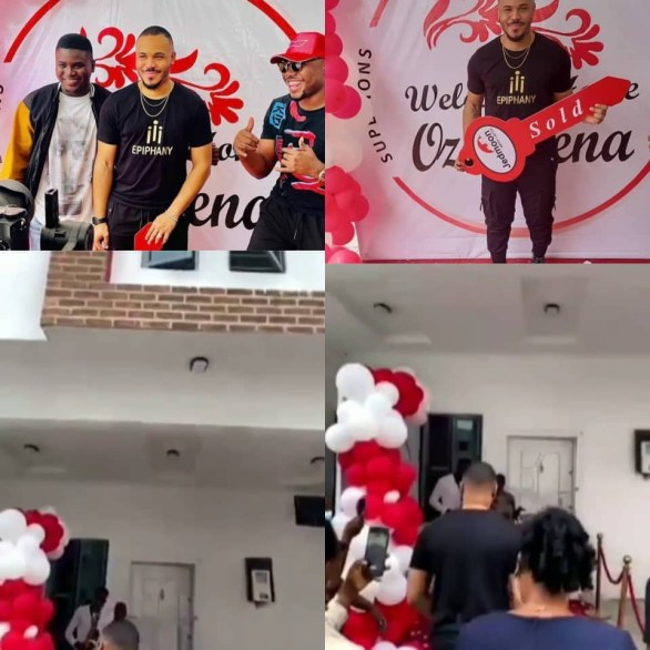 BBNaija star, Ozo receives a house as birthday gift from his fans (video)