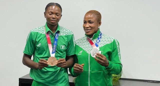 Nigeria ends Tokyo Olympics with only two medals