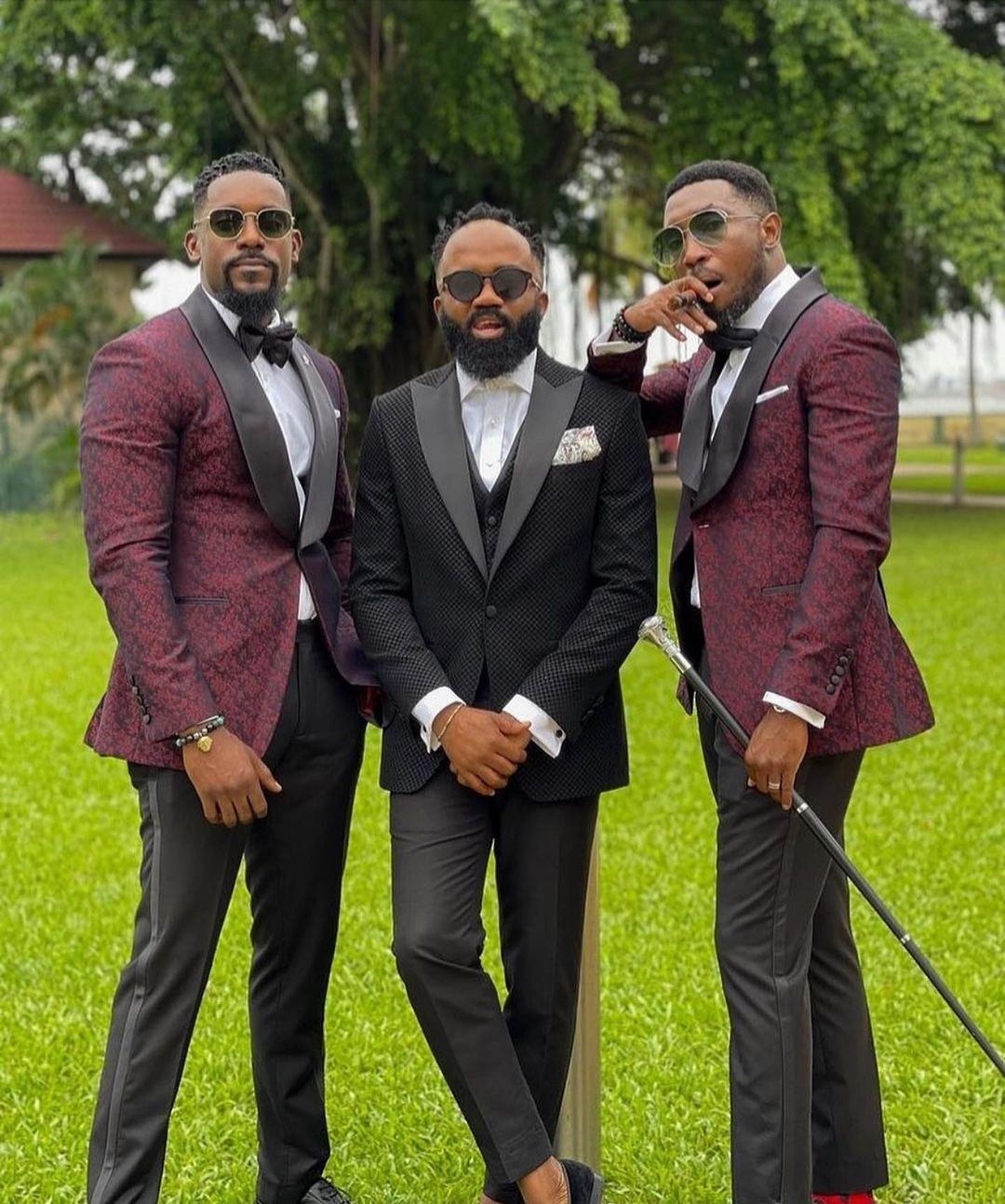 Debola Williams and Kehinde Daniel wed in Lagos ( photos/videos)