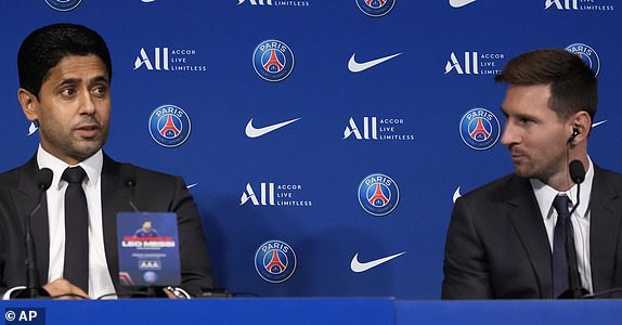 Lionel Messi speaks on Neymar, Barca exit, family, possible Champions league win in full press conference speech as he begins ?1m per week deal at PSG