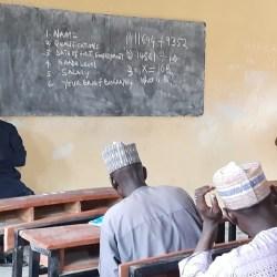Governor Zulum, Holds Impromptu Test For Teachers (photos)