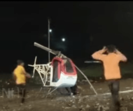 Young innovator dies while testing his helicopter prototype as rotor blade slashes his neck (video)