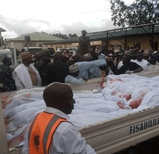 ''I have ordered the perpetrators to be fished out''- President Buhari reacts as 22 travelers are killed along Plateau highway