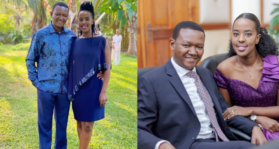 Kenyan Governor, Alfred Mutua and wife Lilian announce end of their marriage