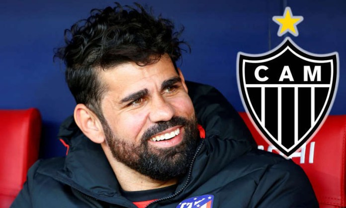 Former Chelsea striker, Diego Costa signs for Atletico Mineiro on free transfer