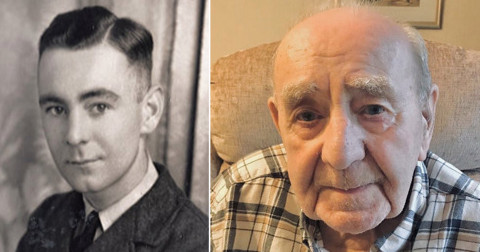 Widower aged 100 years receives 700 birthday cards from strangers so he won