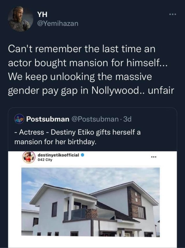 More men in Nollywood should pursue multiple streams of income ? Actress Lota Chukwu comments on claim of pay gap in Nollywood