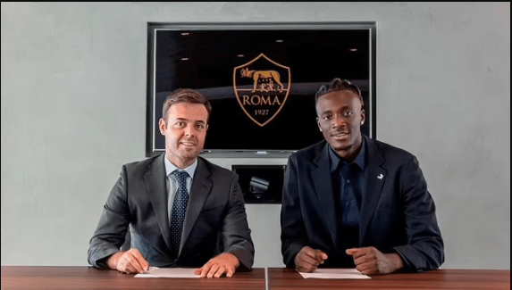 Chelsea striker Tammy Abraham joins Roma on five-year contract for ?34m