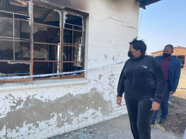 2-year-old South African girls die in house fire after being locked indoors with burning candle by guardian