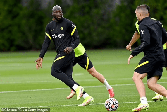 Romelu Lukaku takes No 9 shirt at Chelsea after ?97.5m transfer from Inter Milan