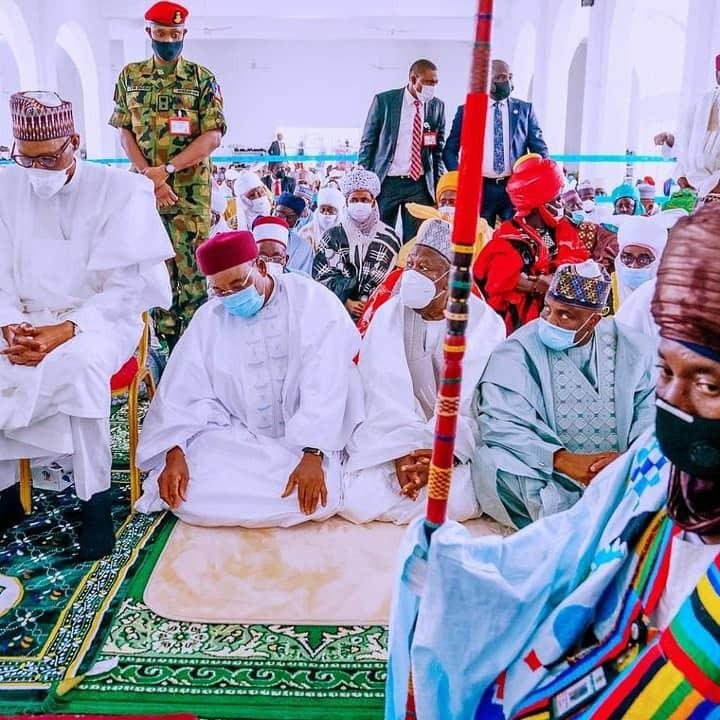 Goodluck Jonathan, Atiku Abubakar, others attend wedding of President Buhari
